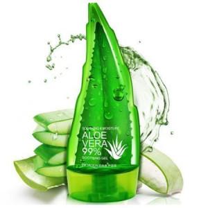 Гель увлажняющий и успокаивающий BIOAQUA Aloe Vera 99%, 160 мл
