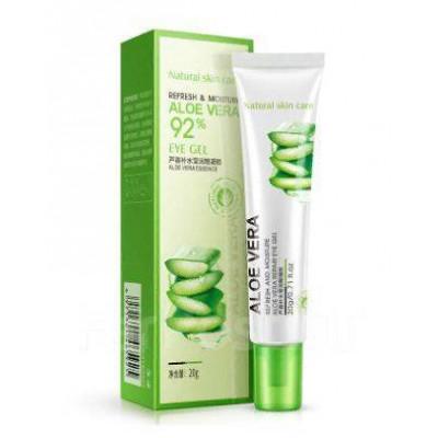 Гель для глаз с алое BIOAQUA Aloe 92% Eye Gel, 20 г Увлажняющий