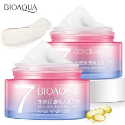 Крем для лица BIOAQUA Hyaluronic Acid Lazy Vegan, 7,50 г Увлажняющий