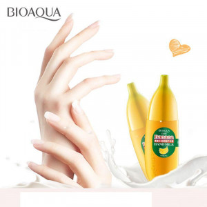 Крем-молочко для рук банан BIOAQUA Fruit Banana Hand Cream, 40 г
