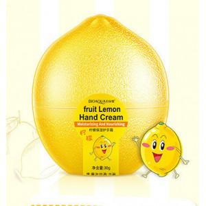 Крем-молочко для рук лимон BIOAQUA Fruit Lemon Hand Cream, 30 г