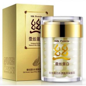 Крем с протеинами шелка BIOAQUA Silk Protein, 60 мл Питающий