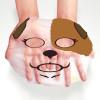 Маска тканевая с принтом СОБАЧКА BIOAQUA Animal Dog Addict Mask Увлажняющая.