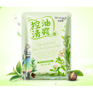 Маска с маслом чайного дерева BIOAQUA Освежающая 30 г