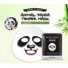 Маска тканевая с принтом ПАНДА BIOAQUA Animal Panda Tender Mask Смягчающая.