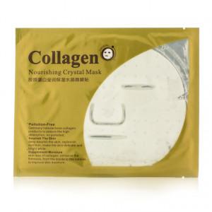 Гидрогелевая маска с коллагеном BIOAQUA Nourishing Crystal Collagen Mask