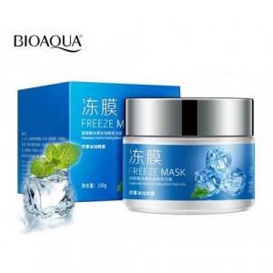 Маска ночная с мятой BIOAQUA Freeze Mask Hyaluronic, 100 г Охлаждающая