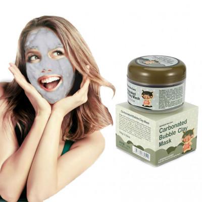 Маска кислородная BIOAQUA Carbonated Bubble Mask, 100 г Очищающая
