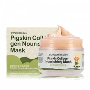 Маска коллагеновая BIOAQUA Pigskin Collagen Nourishing Mask, 100 г Питательная