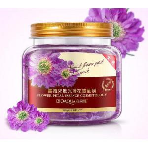 Маска ночная с экстрактом лепестков хризантем BIOAQUA Natural Flower Petal Mask, 280 г