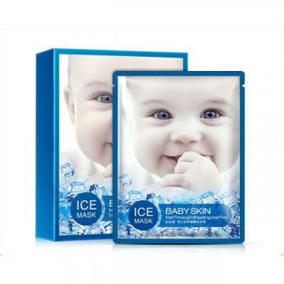 Маска  для лица увлажняющая и успокаивающая Baby Skin BIOAQUA  Ice Mask, 30 г