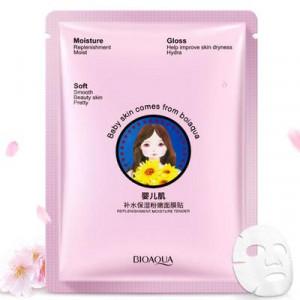 Маска для лица питательная тканевая с экстрактом вишни BIOAQUA Baby Skin Cherry Blossom Mask, 30 г