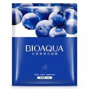 Маска увлажняющая с экстрактом черники BIOAQUA Blueberry Facial Mask, 30 г