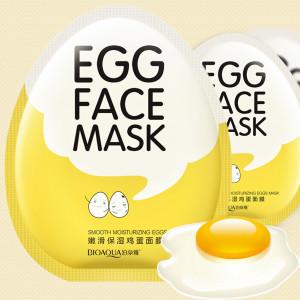 Маска увлажняющая с экстрактом яичного желтка BIOAQUA Egg Face Mask, 30 г