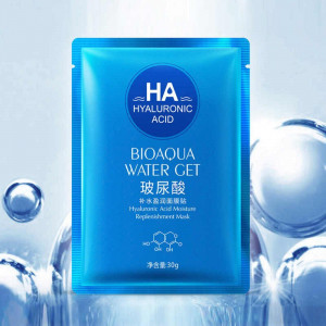 Маска для лица с гиалуроновой кислотой BIOAQUA Water Get Hyaluronic Acid, 30 г