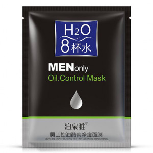 Mаска для жирной кожи лица BIOAQUA MENonly Oil.Control Mask, для мужчин 30 г