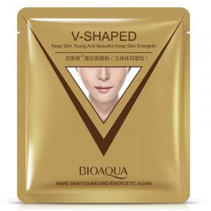 Лифтинг-маска для коррекции овала лица BIOAQUA V-Shaped, 40 г