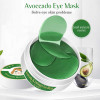 Патчи гидрогелевые с авокадо и коллагеном Aichun&Beauty Avocado Collagen Eye Mask, 60 шт.
