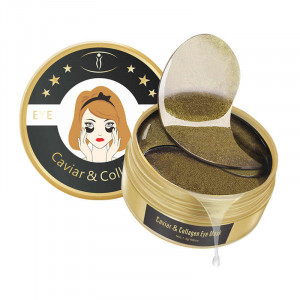 Патчи гидрогелевые с черной икрой и коллагеном Aichun&Beauty Caviar  Collagen  Eye Mask, 60 шт.