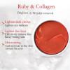 Патчи гидрогелевые с рубиновой пудрой  и коллагеном Aichun&Beauty Ruby Collagen Eye Mask, 60 шт.
