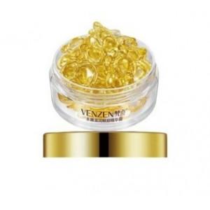 Сыворотка в капсулах для глаз с ретинолом VENZEN Bright Gold, 30 капсул