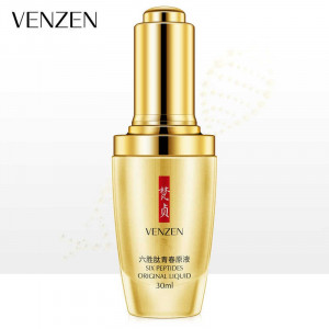 Сыворотка с пептидами для зрелой кожи лица VENZEN Six Peptides Original Liquid, 30 мл