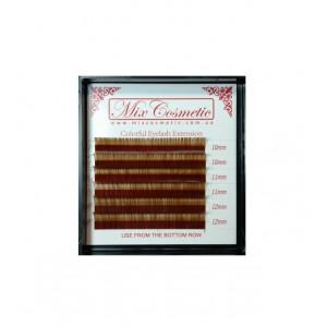 Ресницы MixC C 0,07 MIX 6 линий Brown