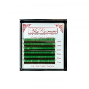 Ресницы MixC C 0,07 MIX 6 линий Green