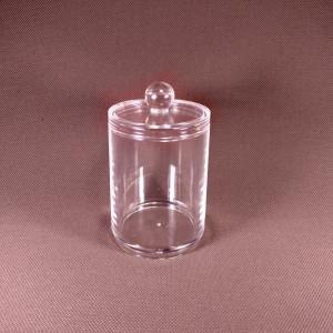 Органайзер для ватных дисков или палочек Round container for cotton sticks
