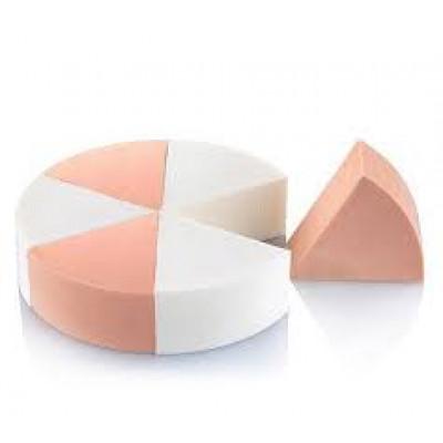 Спонжи латексные для тона треугольные 6 шт.