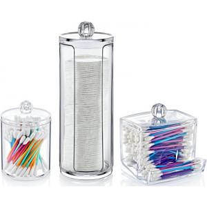 Органайзер набор для ватных дисков и палочек BoxUp 3 предмета