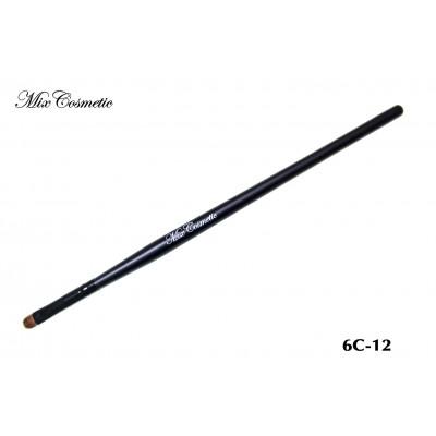 Кисть для нанесения теней MixCosmetic ворс колонок (соболь) 6С-12