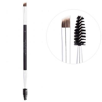 Кисть для бровей ANASTASIA Duo Brow Brush #14
