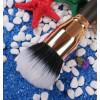 Кисть для тонального крема Duo Fibre MY DESTINY 012 Gold Series