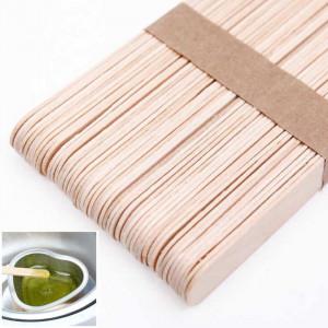 Шпатель деревянный для депиляции, 50 шт/уп