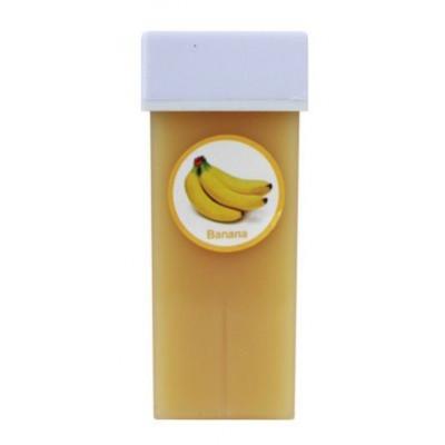 Воск в кассете водорастворимый, 100 г. Банан