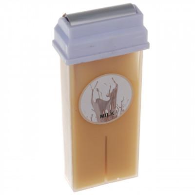 Воск в кассете водорастворимый, 100 г. Молоко