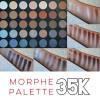 Палитра теней 35 кофейных оттенков MORPHE  Koffee 35K