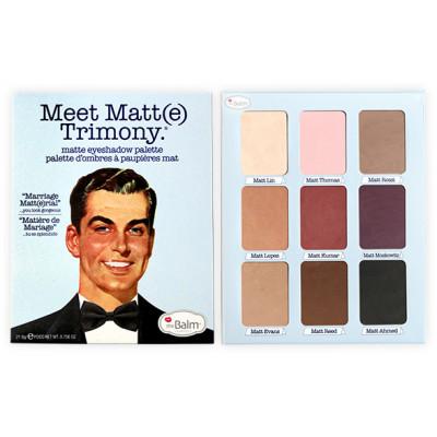 Палетка теней theBalm Meet Matt(e) Trimony