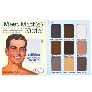 Палетка теней theBalm Meet Matt(e) Nude
