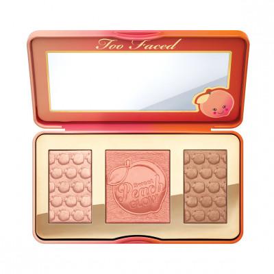 Палетка румян и хайлайтеров для лица TOO FACED Sweet Peach Glow