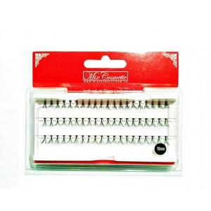 Ресницы накладные пучками MixCosmetic 10 мм