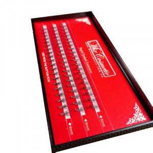 Ресницы в пучках MixCosmetic 8 мм