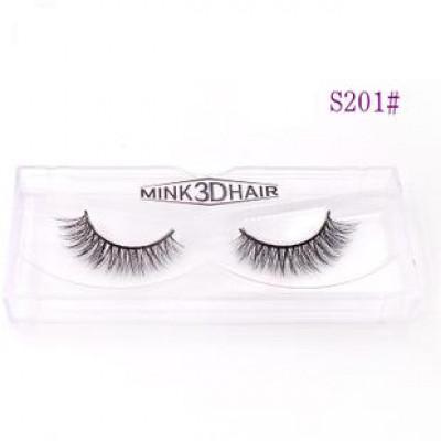 Накладные натуральные ресницы Mink 3D Hair S201