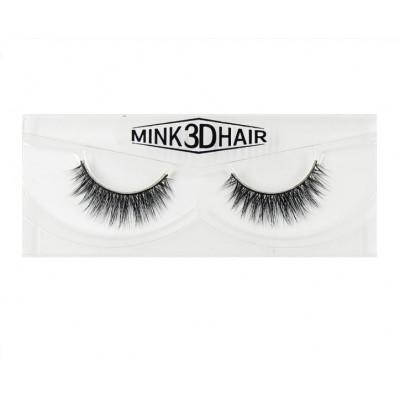 Накладные натуральные ресницы Mink 3D Hair S205