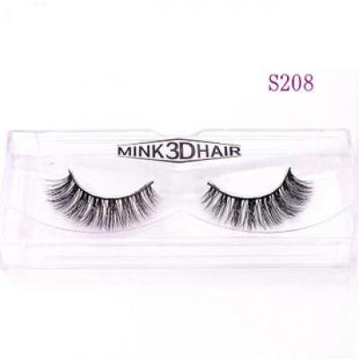 Накладные натуральные ресницы Mink 3D Hair S208