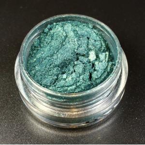 """Пигмент """"Мирт"""" MixCosmetic холодный зеленый сатин 6055."""
