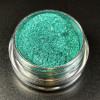 """Пигмент """"Трилистник"""" MixCosmetic холодный зеленый с сиянием 6057."""