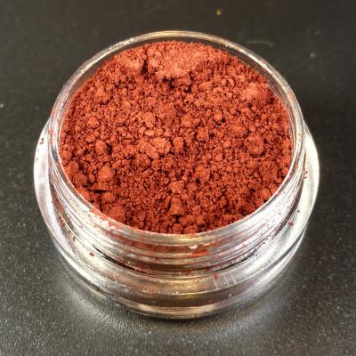 """Пигмент """"Орех каштана"""" MixCosmetic коричневый с бордовым матовый 82006."""