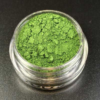 """Пигмент """"Папоротник"""" MixCosmetic зеленый матовый 50001."""